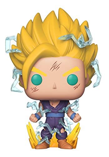 Funko Pop Animation: Dragon Ball Z - Super Saiyan 2 Gohan Collectible Figure, Multicolor image
