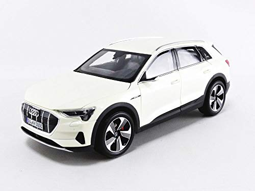 Norev 2019 Audi e-tron Yellowish White Metallic 1/18 Diecast Model Car 188310