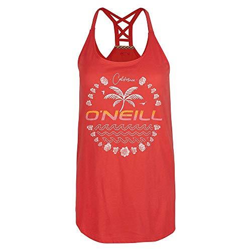 O'NEILL Camiseta de Manga Corta para Adultos O´Neill Beach Angel XS, 1A6928, Coral, Extra-Small