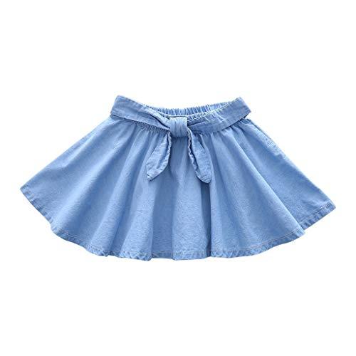 TWIFER Bull-Puncher Skirt Girls' Fashion Cute Children's Clothes Denim Skirt