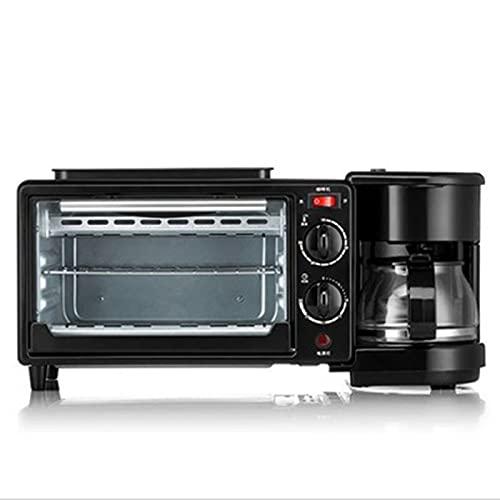 fgfg 3 en 1 Máquina para fabricar desayunos, Cocina de Cocina para el hogar multifunción, para Hacer cafetera Pizza Bistec