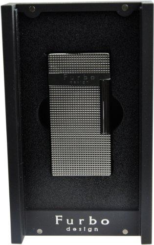 Furbo Design 【フルボデザイン】 フリント式ライター ブラックニッケル/サテーナ FD100-05