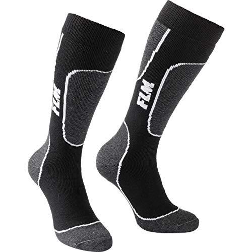 Unbekannt Road Socken Touring Funktionssocke schwarz 43-46, Unisex, Casual/Fashion, Ganzjährig, Textil