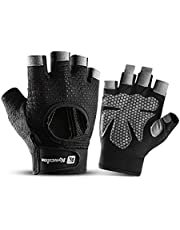 HXDream Gloves Fitness Gloves Workout Gloves Weight Lifting Gloves Palm Support Protection Exercise Gloves Cycling gloves Outdoor gloves XL