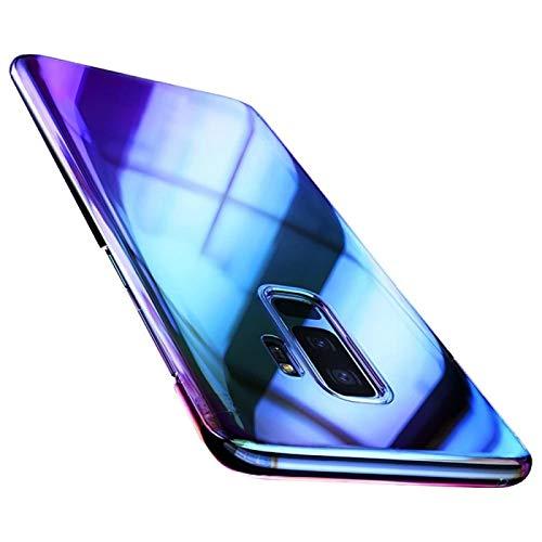 numerva Farbwechsel Handyhülle für Samsung Galaxy Note 10 Lite, Schutzhülle mit Flip Flop Effekt, Handycover Rückschale Farbverlauf Hülle Slim Case, Violett
