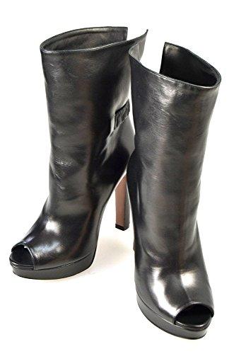 Prada Stivale Tronchetto alla Caviglia Donna Pelle Nero Art. 1TK021 36 Nero - Black