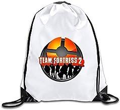 N/A Team Fortress 2 Logo Drawstring Backpack Sack Bag