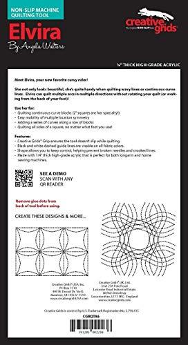 Creative Grids Machine Quilting Tool - Elvira CGRQTA6