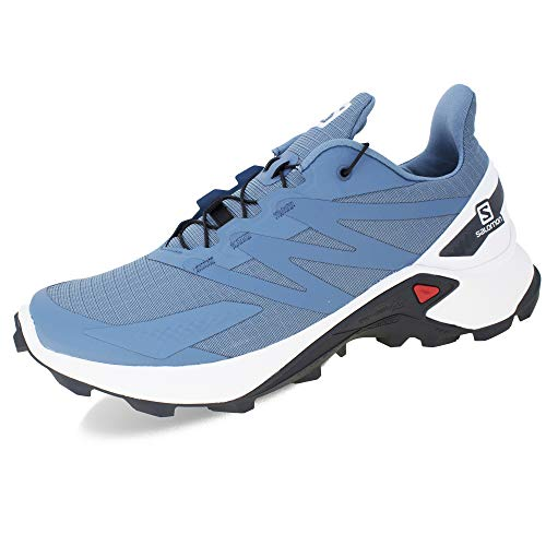 SALOMON Supercross Blast W, Zapatillas de Senderismo Mujer, Copen Blue/White/Ebony, 38 2/3 EU