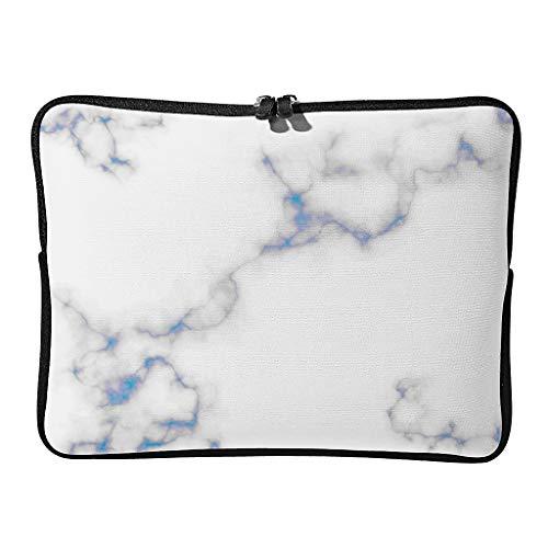 Normal Marble Texture Laptop Bags Graphic Reusable - Artistic Effect Tablet Case Suitable for Business Trip