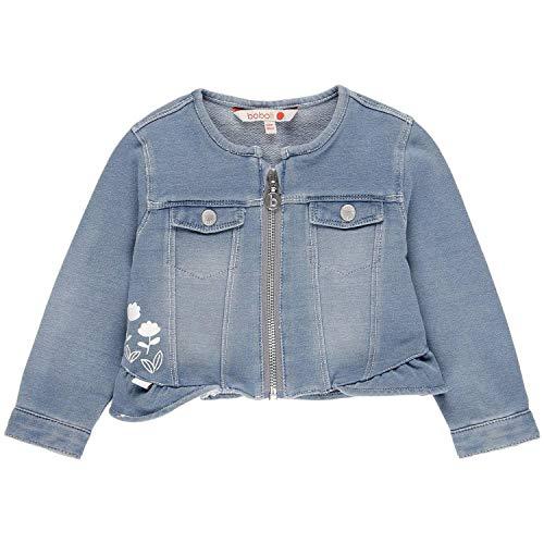 boboli 229081 Veste en Denim pour bébé Fille - Bleu - 18 Mois