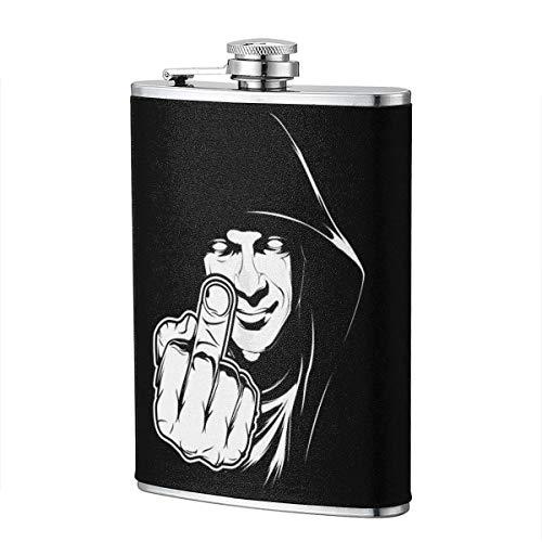 Fick dich Flachmann für Schnapsflasche Wine Flagon Mug Funny Novelty 8oz