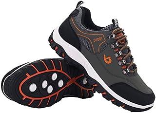 #N/D Herbst Reise Schuhe Atmungsaktiv Wanderschuhe Leicht Low-Top Schuhe Leder Sneakers Herren Outdoor Low-Top Freizeitschuhe