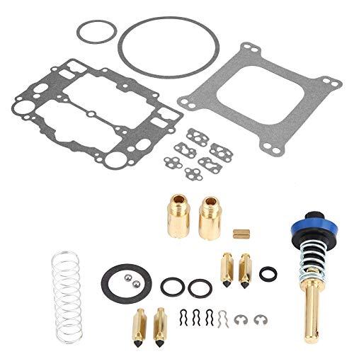 Qiilu Edelbrock Rebuild Kit, Professional Carburetor Rebuild Kit, Edelbrock Carb Repair Tools 1400 Series, 1400 1403 1405 1406 1407 1409 1411, Carter Competition Series Carburetors 9400-9758