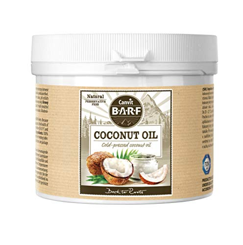Coconut Oil For Dogs,Cold Pressed Dog Food Supplement, Natural And Anti- Inflammatory 100% Coconut Oil Helps With Skin And Coat Condition, Immediate Energy Boost For Active Dogs, (600 G)