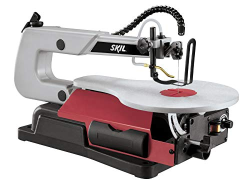 SKIL 3335-07 16', Scroll Saw With Light,Red