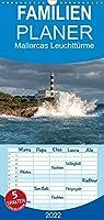 Mallorcas Leuchttuerme - Familienplaner hoch (Wandkalender 2022 , 21 cm x 45 cm, hoch): Faszination Leuchttuerme (Monatskalender, 14 Seiten )