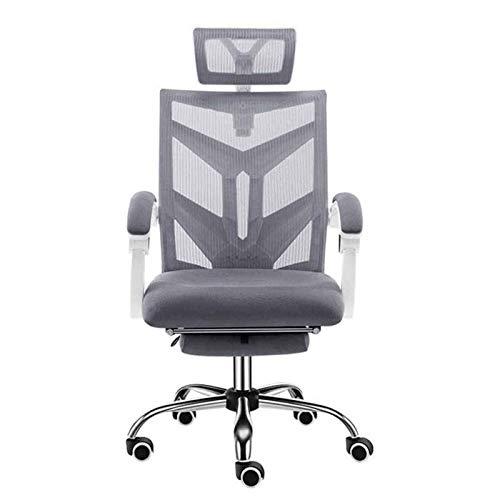 HMBB Sillas de Escritorio, Sillas de oficina silla ergonómica for sillas hogareño de videojuegos, escritorio Presidente Ejecutivo de computadora, y 360 ° Giro tejido de malla silla con el apoyo for la