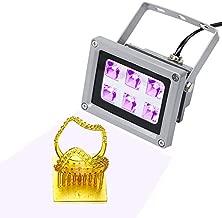 CCTREE 3D Printer UV Resin Curing Light for ANYCUBIC Photon ELEGOO Mars SLA DLP 3D Printer Solidify Photosensitive Resin 405nm UV Resin Affect, DIY Curing Enclosue