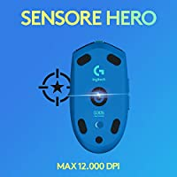 Logitech G305 Mouse Gaming Wireless Lightspeed, Sensore HERO, 12000 DPI, Design Leggero, 6 Pulsanti Programmabili + Logitech G733 Lightspeed Cuffia Wireless con Microfono Gaming #4