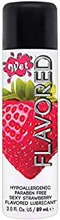 Wet Flavored Water Based Gel Lubricant, Kiwi Strawberry, 3.6 Ounce by Wet
