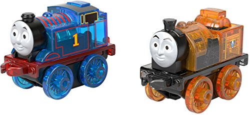 Thomas & Friends MINIS engines with a special light-up feature