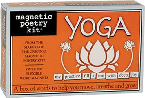Magnetic Poetry - Yoga Kit - Words for Refrigerator - Write Poems and Letters on The Fridge - Made in The USA