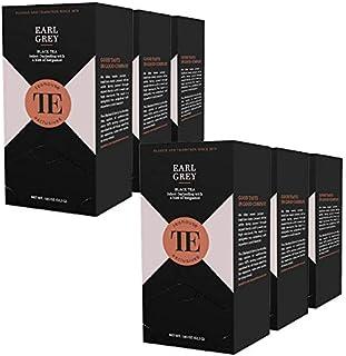 teahouse exclusives TE Earl Grey, 20 Gourmet Tea Bag / 6er Pack