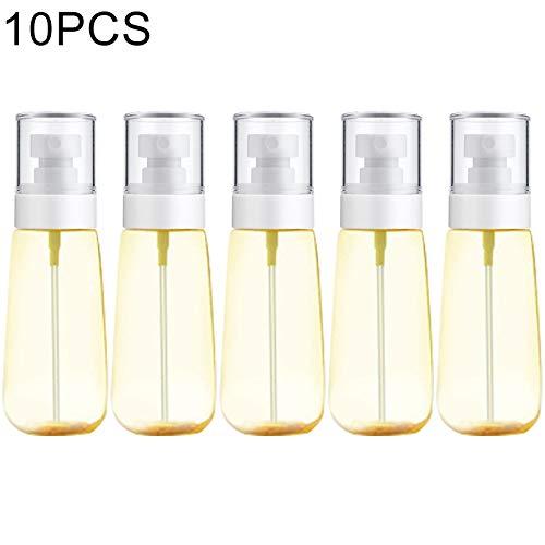 YANUNK 10 PCS Bouteille de Lotion de Distribution de Parfum, 100ml (Couleur : Jaune)