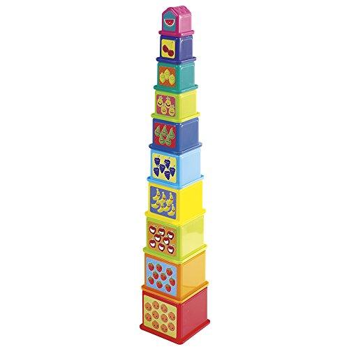 PlayGo - Juego Torre de Cubos cuadrados (44285)