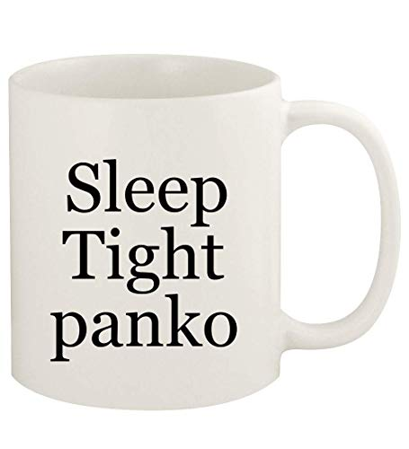 Sleep Tight panko - 11oz Ceramic White Coffee Mug Cup, White