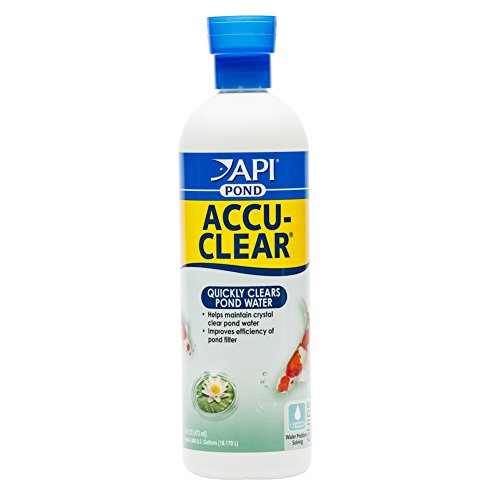 API POND ACCU-CLEAR Pond Water Clarifier 16-Ounce Bottle