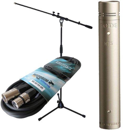 Micrófono de condensador Rode NT5 S + KEEPDRUM micrófono-trípode + micrófono