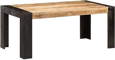 vidaXL Dining Table 180x90x76 cm Solid Mango Wood