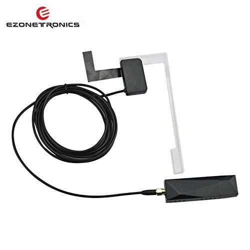 EZoneTronics Externer DAB DAB + Adapter angepasst Digitaler Radio Tuner Box passt für Alle Android Car Autoradio Stereo