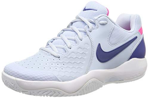 Nike Wmns Air Zoom Resistance, Scarpe da Tennis Donna, Multicolore (Half Blue/Indigo Force-Pink Blast-White 403), 37.5 EU