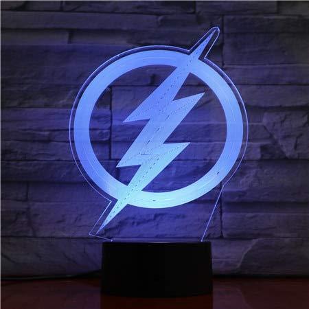 Jiushixw 3D acryl nachtlampje met afstandsbediening van kleur veranderende bureaulampen passende cartoon superman baby jongen kind kind verjaardagscadeau nachtkastje tiffany tafellamp opslag