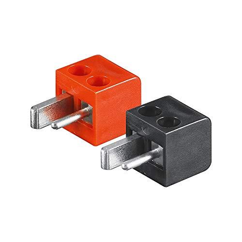 Wentronic LST 02B/R schwarz, rot-Schnittstelle und Netzteil