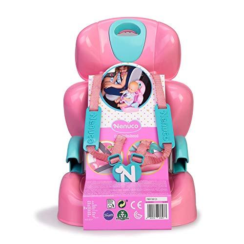 Nenuco-Sillita para Coche, Accesorio para Transportar a muñeco, Regalo Ideal para niñas y niños a Partir de 2 años(Famosa 700016256)