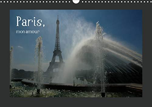 Paris, mon amour (Wandkalender 2021 DIN A3 quer)