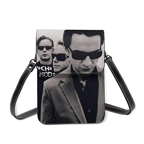 Depeche Mode-1 Quaste Dekoration Reißverschluss Klappe Kleine Schulter Crossbody Satteltasche mit Schloss Verschluss