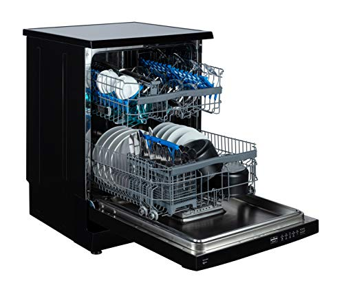 Candy CDPN1L670SB Freestanding Dishwasher with Smart Touch, 16 Place Setting, Black