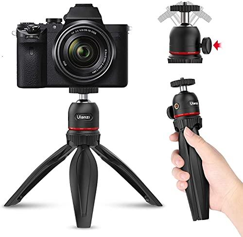 Ulanziミニ三脚 スマホ 三脚 プロジェクター台 スマホ 三脚 卓上三脚 コンパクト 小型 カメラ三脚 軽量 セルカ棒360度回転 ビデオカメラ ボール雲台 マジックアーム拡張可能 持ち運び便利VLOG iPhone12  Android スマホ プロジェクター Gopro 一眼レフ ミラーレス デジタルカメラ  Pocket1 2  アクションカメラに対応