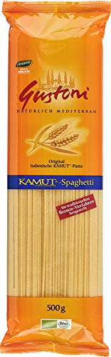 Gustoni Bio Kamut-Spaghetti, bronze (6 x 500 gr)