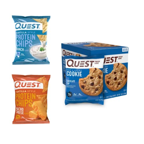 Up to 30% off Quest protein chips and cookies