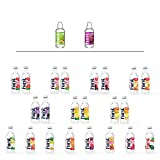 Hint Water Discovery Pack, 24 bottles including 17 Different Flavors (15 Caffeine Free, 2 Caffeinated), Zero Sugar, Zero Diet Sweeteners, Zero Calories