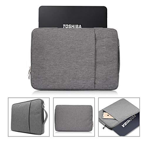 Bolsa de Manga para portátil para Huawei MateBook E / 13 / X/X Pro 13.9/14/15 / D 14 / D 15 / Honor MagicBook Pro 14/15/16.1 Bolsa de Cuaderno Casual (Color : Grey, Size : MateBook X 13)