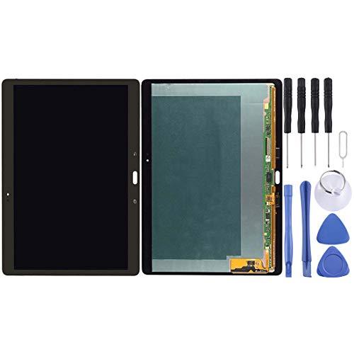 QWP Kit di Sostituzione dello Schermo for Schermo LCD 10,5 / T805 Galaxy Tab S e Digitizer Assemblea Completa (Bianco) + Repair Tool Completa (Colore : Brown)