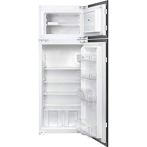 Smeg FR232P Incasso 214L A+ Acciaio inossidabile frigorifero con congelatore