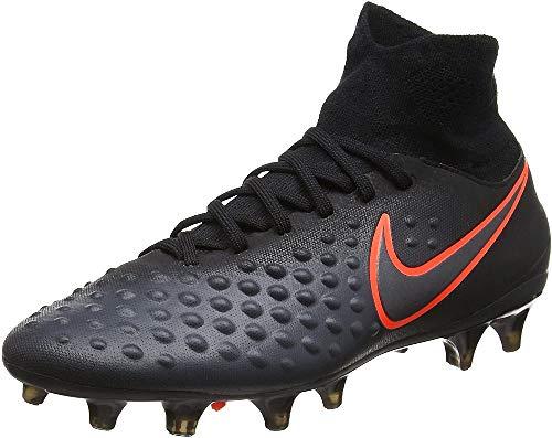 Nike Unisex Jr Magista Obra Ii Fg Fußballschuhe, Schwarz (Black/total Crimson), 36.5 EU
